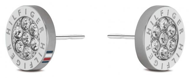 Tommy Hilfiger Crystal Stainless Steel Earrings 2780565