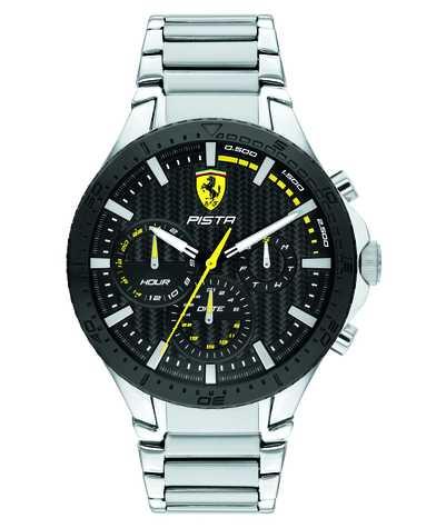Scuderia Ferrari | Pista Dual Track | Black Textured Dial | 0830854