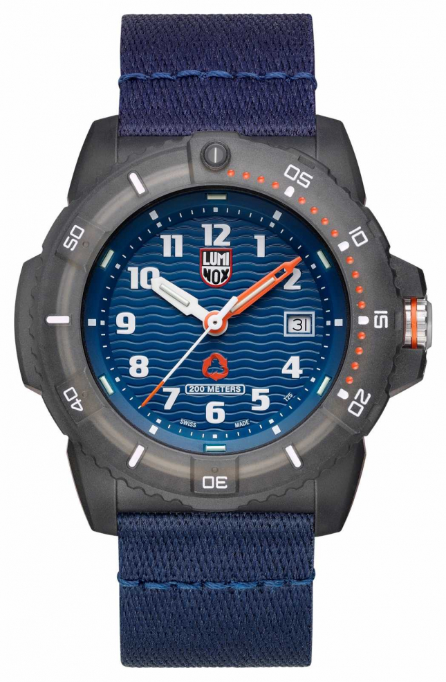 Luminox TIDE Eco Series Blue Textile Strap Watch XS.8903.ECO