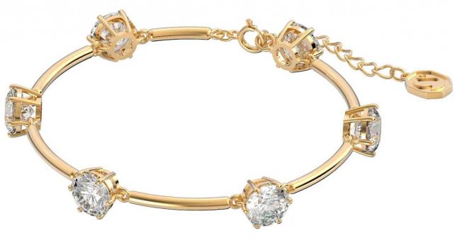 Swarovski Constella | Bracelet | White |Shiny Gold-Tone Plated 5622719