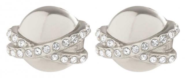Olivia Burton Planet Silver Stud Earrings OBJCLE47